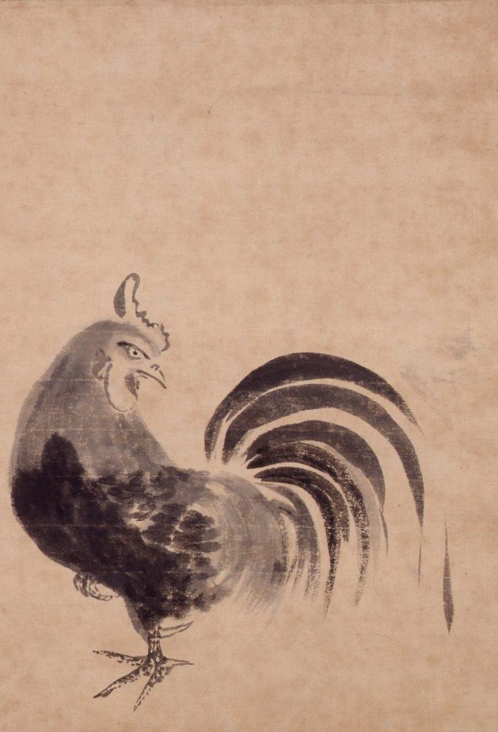 鶏図(東京都江戸東京博物館蔵)